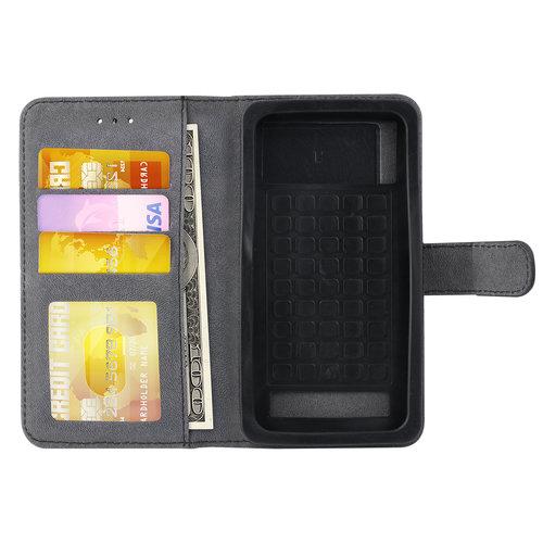 Andere merken Universeel 4.5 inch Card holder Black Book type case for 4.5 inch Magnetic closure