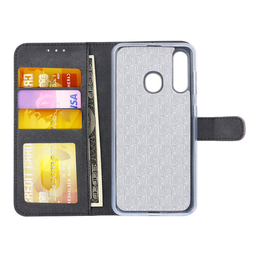 Andere merken Samsung Galaxy M40 Pasjeshouder Rose Gold Booktype hoesje - Magneetsluiting - Kunstleer; TPU
