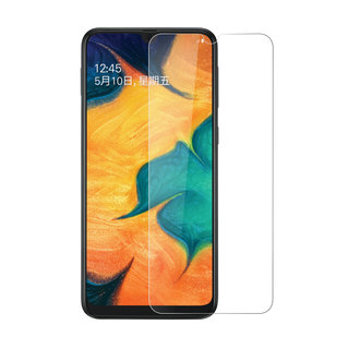 Samsung Galaxy A40 Soft Touch Transparant Screenprotector - Schermbescherming - Tempered Glas