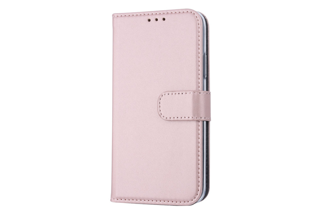 Apple iPhone X/Xs Card holder Rose Gold Book type case for iPhone X/Xs Magnetic closure