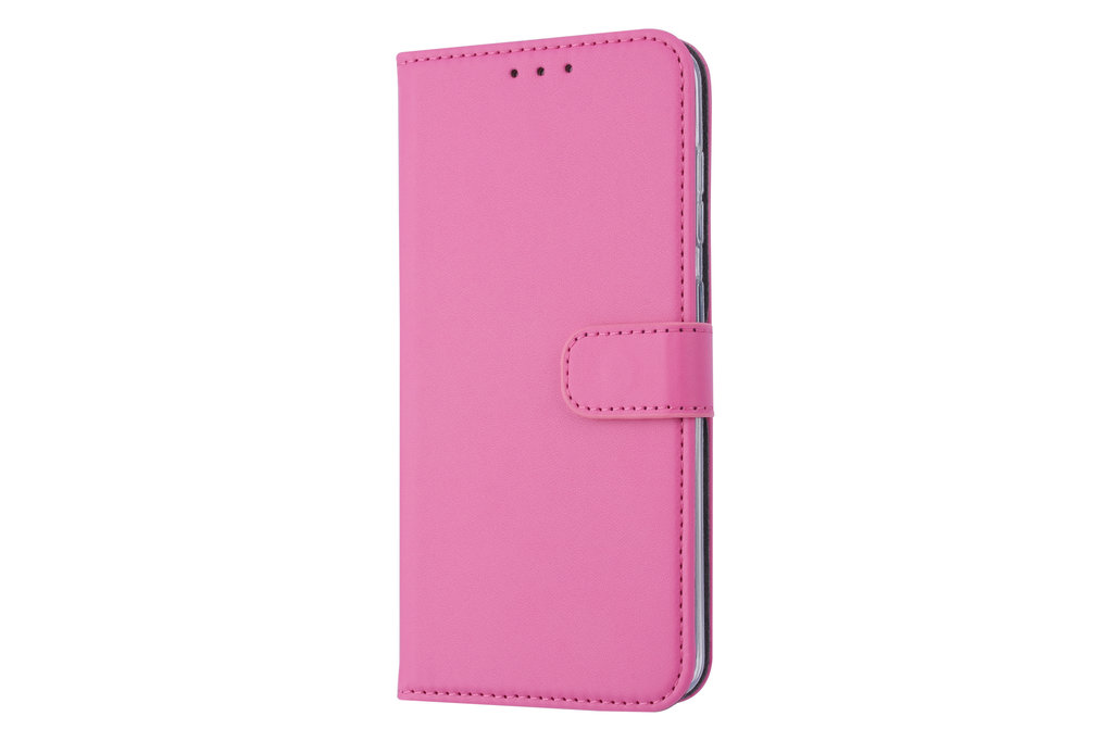 Samsung Galaxy M40 Card holder Hot Pink Book type case for Galaxy M40 Magnetic closure