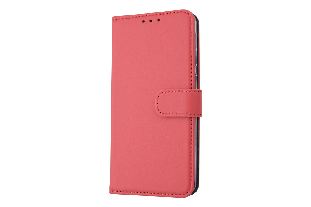 Samsung Galaxy A20e Card holder Red Book type case for Galaxy A20e Magnetic closure