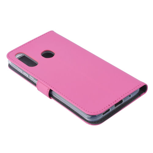 Andere merken Samsung Galaxy M40 Card holder Hot Pink Book type case for Galaxy M40 Magnetic closure