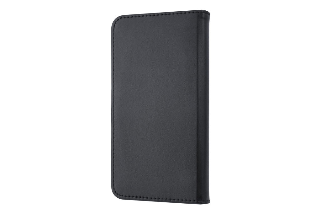 Universeel 5.5 inch Card holder Black Book type case for 5.5 inch Magnetic closure