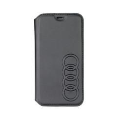 Audi book type housse Apple iPhone 7-8 TT Serie Noir - Sythetic leather