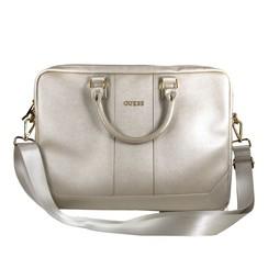 Laptop sac Guess Universeel Guess Handbag Saffiano Look Beige - Computer Bag