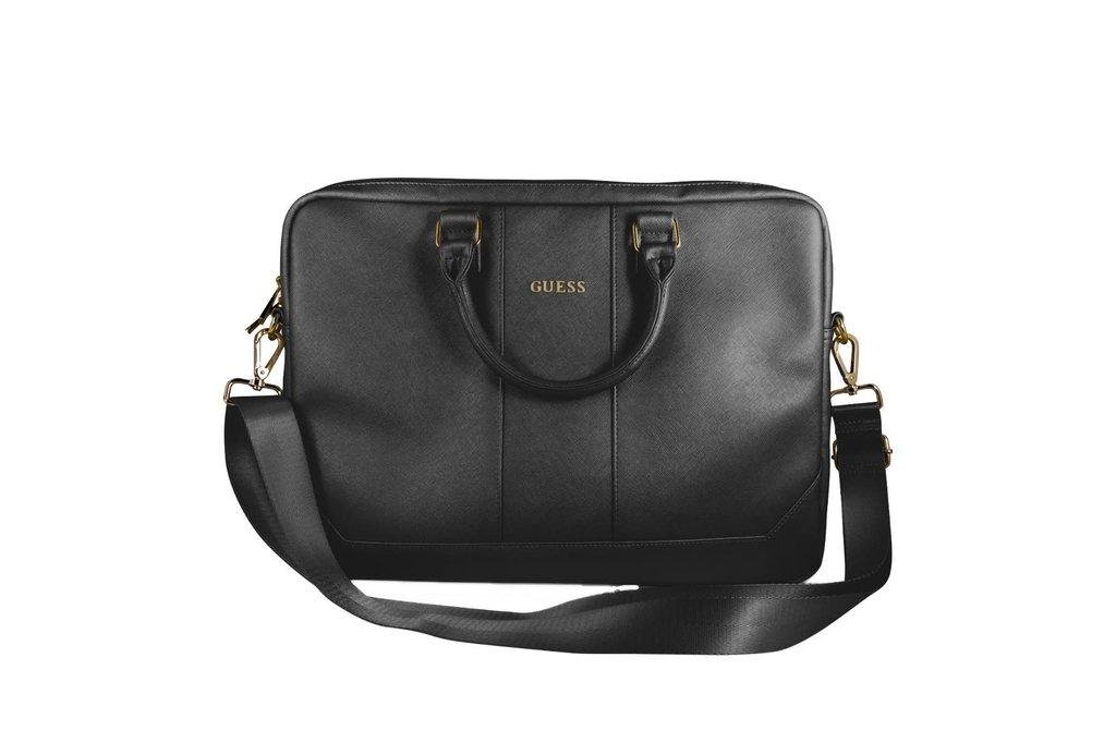 Guess Laptop sac Guess Universeel Guess Handbag Saffiano Look Noir - Computer Bag