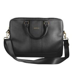Laptop sac Guess Universeel Guess Handbag Saffiano Look Noir - Computer Bag