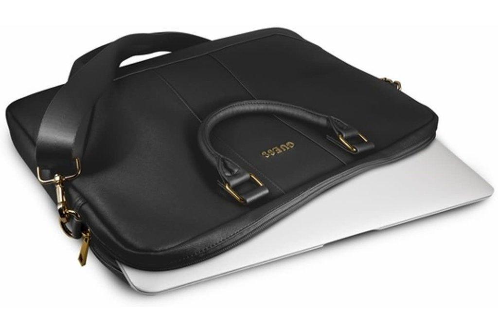 Guess Laptop bag Guess Universeel Guess Handbag Saffiano Look Black for Guess Handbag Computer Bag