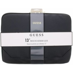 Guess Universal 13 inch Black Saffiano Laptop bag - Outdoor