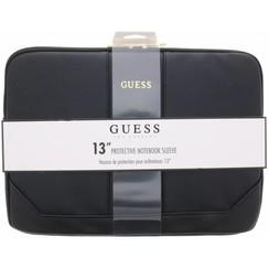 Laptop sac Guess Universeel Guess Handbag Saffiano Look Noir - Computer Sleeve