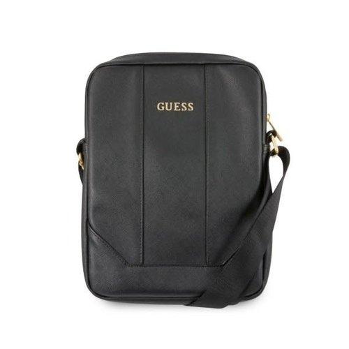 Guess Tablettas 10 inch Saffiano Look Guess Universeel Zwart - Tablet bag - Kunstleer