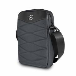 Tablet tasche Mercedes-Benz Universeel Mercedes Handbag Pattern III Grau -Tablet bag - Kunstleer