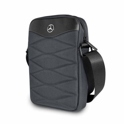 Mercedes-Benz Tablet sac Mercedes-Benz Universeel Mercedes Handbag Pattern III Gris - Tablet bag