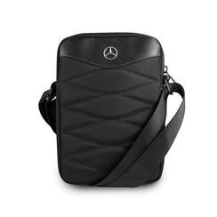 Tablet tasche Mercedes-Benz Universeel Mercedes Handbag Pattern III Schwarz -Tablet bag - Kunstleer