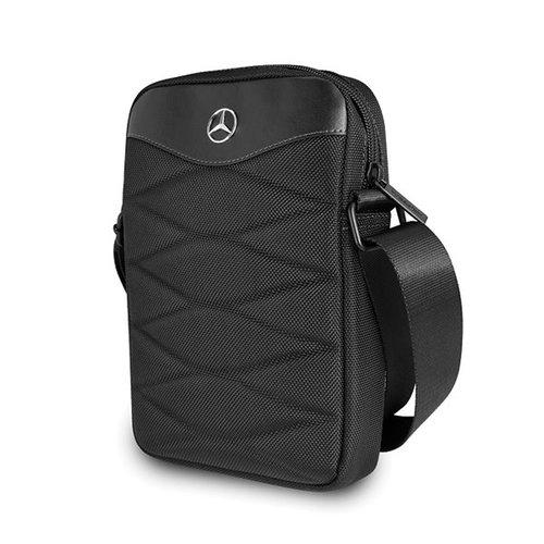Mercedes-Benz Tablettas 10 inch Pattern III Mercedes-Benz Universeel Zwart - Tablet bag - Kunstleer