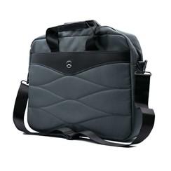 Laptoptas 15 inch Pattern III Mercedes-Benz Universeel Grijs - Carry Bag - Kunstleer