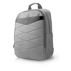 Laptoptas 15 inch Pattern III Mercedes-Benz Universeel Grijs - Backpack - Kunstleer