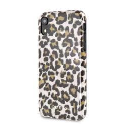Guess back cover coque Apple iPhone 7-8 Full TPU Print - Shiny