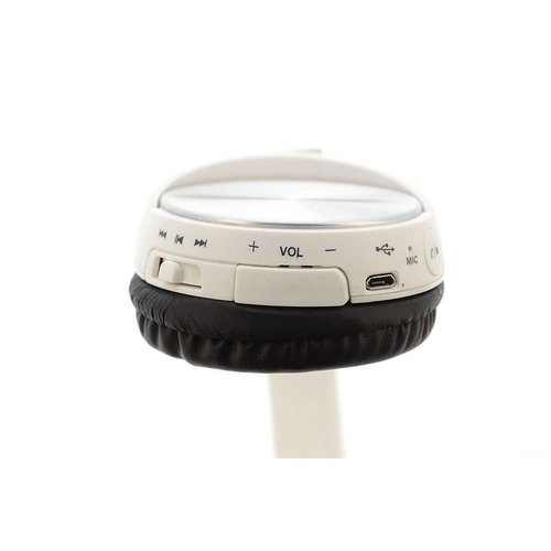 Andere merken Koptelefoon Wit Wireless Bluetooth headset