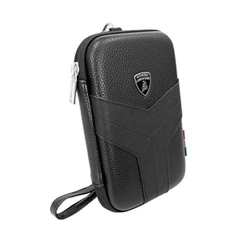 Andere merken Tablettas 12 inch Easy Carry Lamborghini Universeel Zwart - Universal Bag - Echt leer