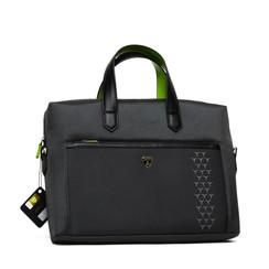 Tablet tasche Lamborghini Universeel Lamborghini Handbag Easy Carry Schwarz -Universal Bag - Kunstleer; TPU