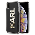Karl Lagerfeld Karl Lagerfeld back cover coque Apple iPhone XS Max Glitter Or - Good Grip