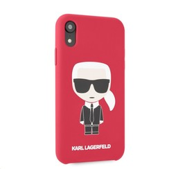 Karl Lagerfeld back cover coque Apple iPhone XR Full Body Rouge - Karl Iconic