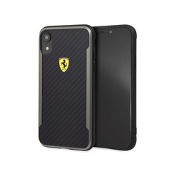 Ferrari back cover case Apple iPhone XR Logo Black - Scuderia