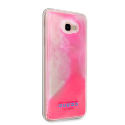 Guess back cover coque Samsung Galaxy J4+ Glow in the dark Rose - Smart