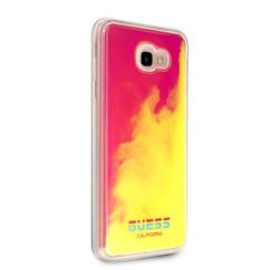 Guess backcover hoesje Glow in the dark Samsung Galaxy J4+ Roze - Smart - TPU