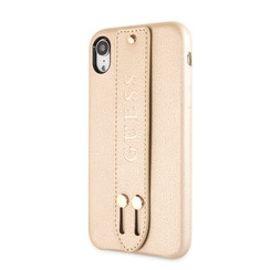 Guess back cover case Apple iPhone XR Iridescent Beige - Strap
