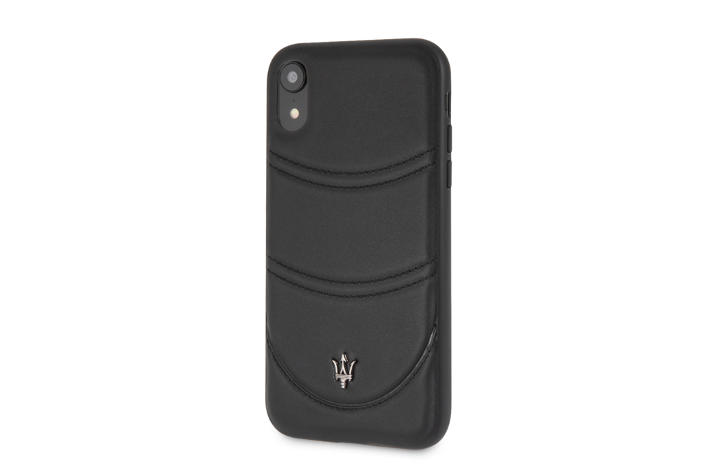 Maserati Maserati back cover coque Apple iPhone XS Max Granslusso Noir - Hard Case