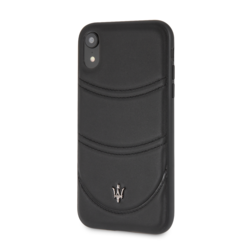 Maserati back cover coque Apple iPhone XS Max Granslusso Noir - Hard Case