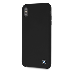 BMW back cover coque Apple iPhone XS Max Silicone Noir - Hard Case