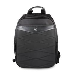 Laptoptas 15 inch Pattern III Mercedes-Benz Universeel Zwart - Backpack - Kunstleer