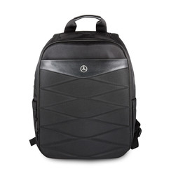 Mercedes-Benz universel 15 inch Noir Pattern lll BackPack - Sport