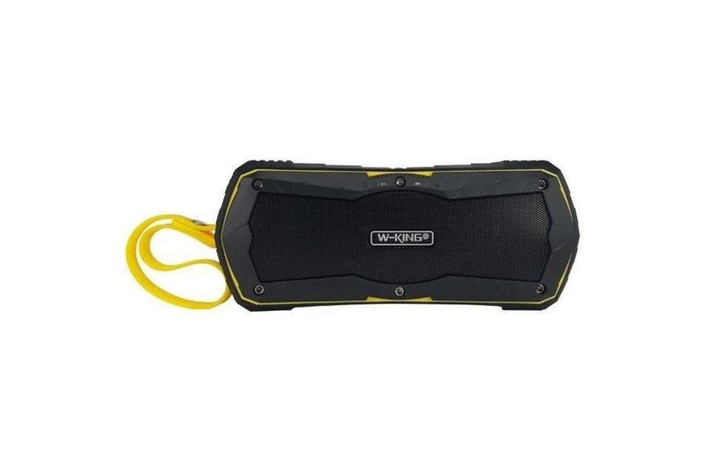 Andere merken W-KING S9 Waterproof Bluetooth speaker - Geel