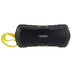 W-KING S9 Waterproof Bluetooth speaker + powerbank- Geel