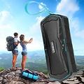 Andere merken W-KING S9 Waterproof Bluetooth speaker + powerbank - Blauw