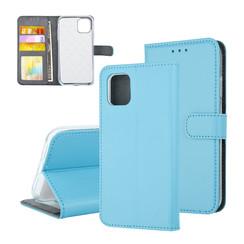 Book type housse Apple iPhone 11 Pro Max Titulaire de la carte Bleu - Fermeture magnétique