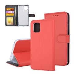 Book type housse Apple iPhone 11 Pro Max Titulaire de la carte Rouge - Fermeture magnétique