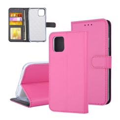 Book type case Apple iPhone 11 Pro Max Card holder Hot Pink - Magnetic closure