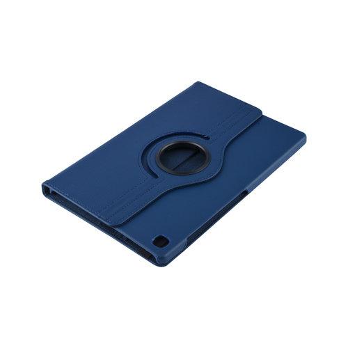 Andere merken Samsung Galaxy Tab S5e 10.5 inch Blauw Book Case Tablethoes Draaibaar - 2 kijkstanden - Kunstleer