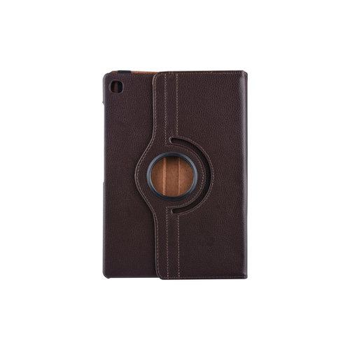 Andere merken Samsung Galaxy Tab S5e 10.5 inch Bruin Book Case Tablethoes Draaibaar - 2 kijkstanden - Kunstleer