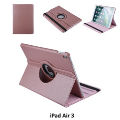 Apple iPad Air 3 Rose Gold Book Case Tablethoes Draaibaar - 2 kijkstanden - Kunstleer