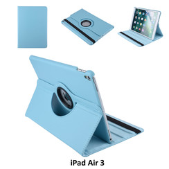 Apple iPad Air 3 L-Blauw Book Case Tablethoes Draaibaar - 2 kijkstanden - Kunstleer