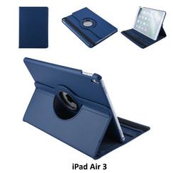 Apple iPad Air 3 D-Blauw Book Case Tablethoes Draaibaar - 2 kijkstanden - Kunstleer