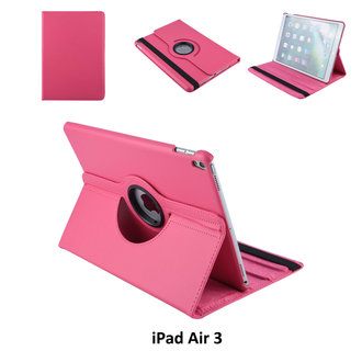 Book case Tablet Apple iPad Air 3 Rotatable Hot Pink for iPad Air 3 2 Viewing Positions
