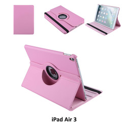 Apple iPad Air 3 Roze Book Case Tablethoes Draaibaar - 2 kijkstanden - Kunstleer